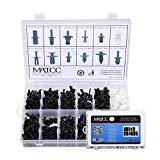 Offer for MATCC 350 Pcs Auto Clips Assortment Retainer Clips Push Trim Panel Body Interior Assortment Set Fit for GM Ford Toyota Honda Chrysler etc