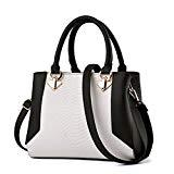 Offer for Nevenka Women Bags Handbag Shoulder Bags Fashion Crossbody Bags Purse Totes (BLACK)