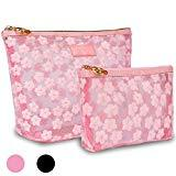 Offer for Zakaco Makeup Bags for Women,Pink Cute Cosmetic Bags Pouch for Purse,Small Makeup Pouch Set for Women (Pink)