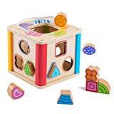 Offer for rolimate Colorful Preschool Early Development Wooden Educational Game Toy Gift Box - Activity Centers - Best Birthday Pre-Kindergarten Gift Toy for Age 18 Month and Up Kids Toddlers Baby (1.0)