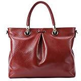 Offer for Genuine Supple Leather Handbags for Women Totes Top-handle Handbags Evening Shoulder Handbags