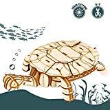 Offer for Rolife 3D Wooden Puzzle Sea Animal Toy-Realistic Tiny Animal Action Figure-Home Decoration-Ideal Birthday/Easter Day Gift for Nephew Son Grandson Boys Girls(Turtle)