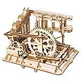 Offer for ROKR 3D Wooden Puzzle Adult Craft Model Building Set Mechanical Marble Run Games Home Decoration-Educational Toy for Christmas,Birthday Gift for Boys and Girls Age 14+(Magic Crush Cog Coaster)