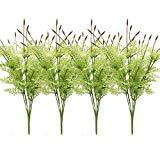 Offer for MARLLES 4 Bouquets Artificial Flowers Lavender Bundles - 16