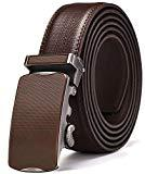 Offer for Men's Belt, Xgeek Ratchet Belt of Genuine Leather 1 3/8 Adjustable Automatic Belt for Men (black7, Waist:36-43)