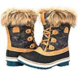 Offer for GLOBALWIN Women's 1838 Camel Winter Snow Boots 6.5M