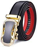 Offer for Men's Belt, Xgeek Ratchet Belt of Genuine Leather 1 3/8 Belt for Men (black9, Waist:36-43)