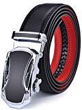 Offer for Men's Belt, Xgeek Ratchet Belt of Genuine Leather 1 3/8 Belt for Men (black8, Waist:36-43)