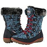 Offer for GLOBALWIN Women's Blue Winter Snow Boots 8M US
