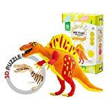 Offer for ROBUD Creative Dinosaur Clay Craft Kit for Kids Girls Boys-Colorful DIY Modeling Air-Dry Clay-Dinosaur Toys for Educational Learning-Best Gifts for Children(Spinosaurus)