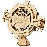Offer for ROKR 3D Wooden Perpetual Calendar Puzzle,Mechanical Gears Toy Building Set,Brain Teaser Games,Engineering Toys,Family Wooden Craft KIT Supplies-Great Birthday for Husband Wife Adult