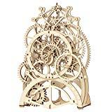 Offer for ROKR 3D Wooden Mechanical Pendulum Clock Puzzle,Mechanical Gears Toy Building Set,Family Wooden Craft KIT Supplies-Best Birthday Gifts for Kids Adults to Build