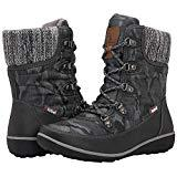 Offer for GLOBALWIN Women's 1841 Grey Winter Snow Boots 6.5M