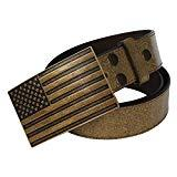 Offer for NPET USA Flag Belt Buckle for Men and Women (Fit 1.5