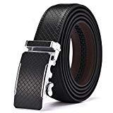 Offer for Men's Belt, Xgeek Ratchet Belt of Genuine Leather 1 3/8 Belt for Men (black12, Waist:36-43)