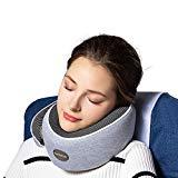 Offer for ComfoArray Head Support Travel Pillow- More Supportive Design, Travel Pillow for Airplane Travel, 100% Memory Foam, Adjustable According to Neck Size. with Earplugs and Sleep Mask.