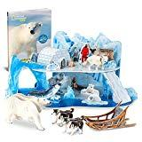Offer for CubicFun National Geographic 3D Puzzle Arctic Tale Science Model for Kids with Booklet, Ice and Snow White World