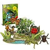 Offer for CubicFun National Geographic 3D Puzzle Insect Science Model for Kids with Booklet, Insect Superpowers