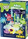 Offer for Thames & Kosmos Ooze Labs: Alien Slime Lab Science Experiment Kit & Lab Setup, 10 Experiments with Slime
