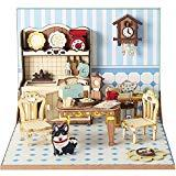 Offer for CubicFun 3D Puzzle Mini DIY Dollhouse Craft Kits with Furniture for Girls and Women, Kitchen Set