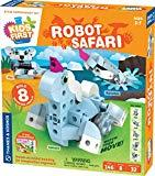Offer for Thames & Kosmos Kids First: Robot Safari - Introduction to Motorized Machines Science Experiment Kit for Ages 5 to 7, Build 8 Robotic Animals Including A Unicorn, Llama, Narwhal & More