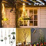 Offer for 2 Pack LED Twinkle Fairy Lights Battery Powered, ALOVECO 200 LED String Lights Decorative Hanging Fairy String Lights with Remote Timer for Christmas Tree, Garden Plant Hanger, Wedding, Party, Bedroom