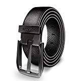 Offer for Seakcoik Men's Dress Belt Genuine Leather with Single Prong Buckle