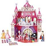 Offer for CubicFun 3D Kids Puzzle Princess Dollhouse Crystal for Girls and Adult, Princess Birthday Party