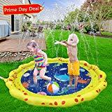 Offer for VATOS Sprinkler for Kids and Splash Play Mat 59