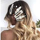 Offer for Pearl Hair Clips for Women Girls- 10 pcs Fashion Korean Style Acrylic Resin Hair Barrettes Hair Clip Hairpins for Women and Ladies Girls Headwear Styling
