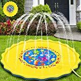 Offer for Babylian Sprinkler Pad & Splash Play Mat, 68