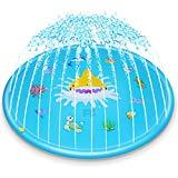 Offer for Ayeboovi Splash Pad Sprinkler Pad 67'' Kids Water Play Center Fun for Toddlers Boys Girls Summer Outdoor Water Pad Toy