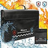 Offer for Aitere Upgraded XL 2500�F Fireproof Bag, Fireproof Document Bags (17