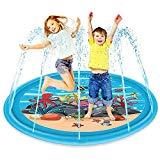 Offer for Taylor Gre Sprinkle and Splash Play Mat, Summer Fun Water Toys Outdoor Party Sprinkler Toy for Children 2 3 4 5 6 Years Old Boys and Girls