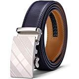 Offer for Men's Belt, Jiguoor Ratchet Belt Genuine Leather Dress Belt, Gifts for men