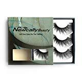 Offer for Newcally 3D False Eyelashes Faux Mink Thick Dramatic Lashes 3 Pairs�