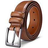 Offer for Mens Belt, Jiguoor Golf Leather Belts for Men's Casual Dress Work Business Jeans