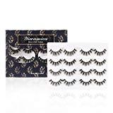 Offer for Yiwamica 3D False Eyelashes High Volume Lashes Pack 8 Pairs