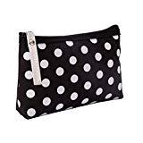 Offer for Canvas Accessory Phone Bag Make Up Pouch Storage Zipped Handbag Organiser Sizes (C1)