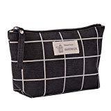 Offer for LANGMAN Portable Travel Toiletry Bag Waterproof Makeup Organizer Cosmetic Bag Pouch (C)