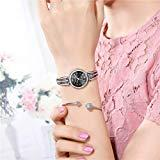 Offer for Molisell Womens Quartz Watches Simple Rhinestone Business Ladies Fine Small Dial Analog Wrist Watch Strap Bracelet Jewelry Gift