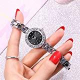 Offer for Molisell Womens Quartz Watches Simple Rhinestone Business Ladies Fine Small Dial Analog Wrist Watch Jewelry Gift