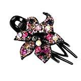 Offer for LANGMAN 2020 New Jewelry Crystal Hair Clips Hairpins- for Hair Clip Beauty Tools (H)