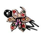 Offer for LANGMAN 2020 New Jewelry Crystal Hair Clips Hairpins- for Hair Clip Beauty Tools (C)
