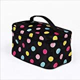 Offer for 010 Women Letter Cosmetic Bag Makeup Bags Toiletry Bag Travel Portable Storage Wash Bag (F)