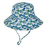 Offer for ALOVEMO Baby Boys Girls Summer Sun Protection Hat, Sunscreen Cap Hat Fisherman's Hat Bucket Hat (L, C)