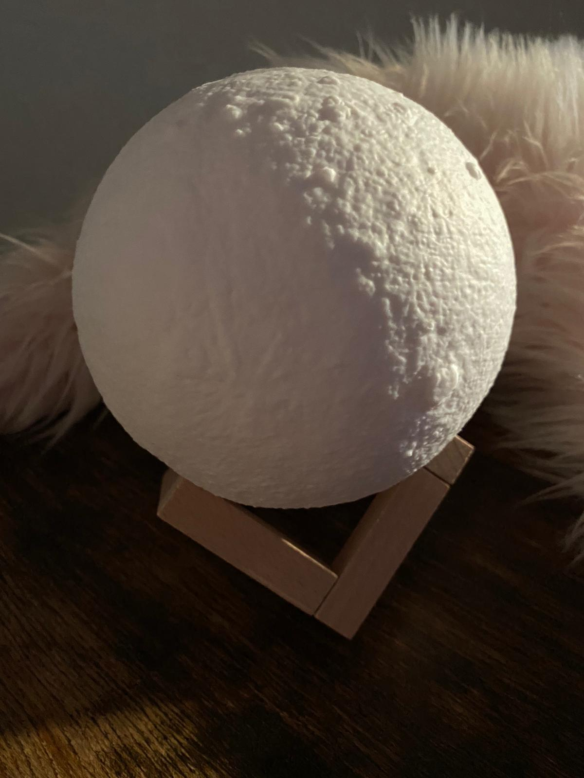 3D Moon Modern Lamp Diffuser without light